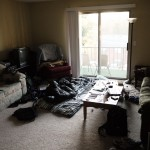 I spent the first month of my trip sleeping in Loukas' living room in Knoxville