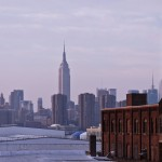 Mid February I arrived in New York. Wow. Here the skyline with Empire State Building