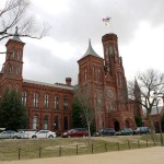 The Smithsonian Castle at the National Mall, Washington, DC