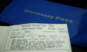 The Greyhound Discovery Pass - might look cheap but it wasn't