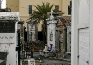 Historic cemetary, New Orleans. Where the Voodoo Queen sleeps...*goosebumps*