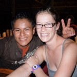 Marissa, my travel mate for Guatemala, instantly fell in love with our guide Jhonny (sic)