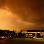 Texas thunder storm
