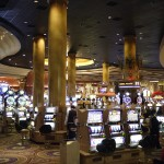 Countless slot machines. You have no idea...