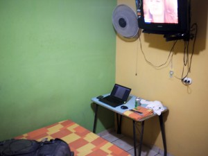 Cheap hotel room in SanSalvador