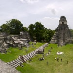 The Mayan ruins of Tikal, hidden deep in the jungle are one of the major sights in Guatemala