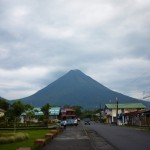 The active volcán Arenal is close to La Fortuna but too dangerous to climb