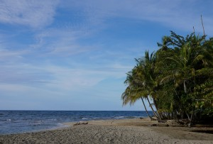 Punta Uva beach in Costa Rica. Not sure if this photo does justice to the actual beauty of this place.