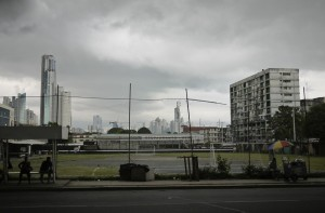Panama City - I love the grungy look of the city