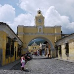 Antigua, the starting point of our travels into Guatemala
