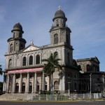 This church in central Managua was destroyed in an earthquake only a few years after it was completed.