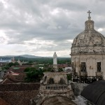 View from a bell tower of that church