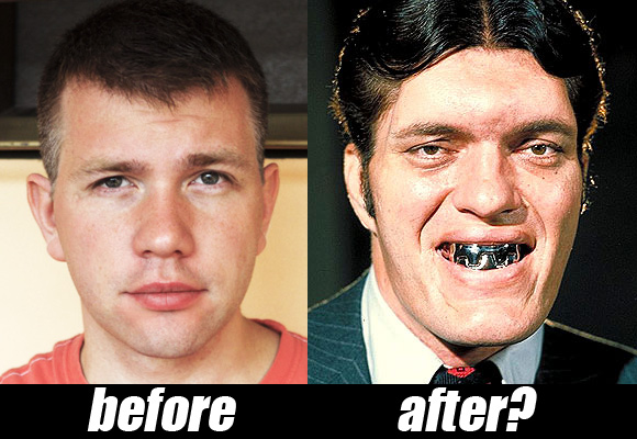 Before & After my dentist marathon