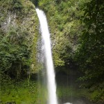 The waterfall near La Fortuna
