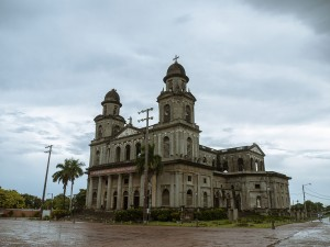 The old cathedral of Managua was build in 1931 and destroyed in an earthquake in 1972